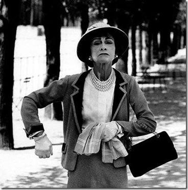 Коко Шанель (фр. Coco Chanel, настоящее имя Габриэль Бонёр Шанель, фр. Gabrielle Bonheur Chanel)