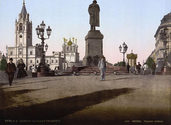 памятники в москве сочинение