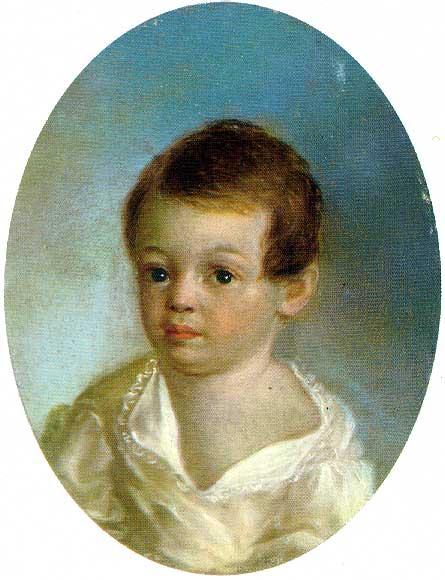 Ксавье де Местр. Пушкин-ребенок. 1800—1802.